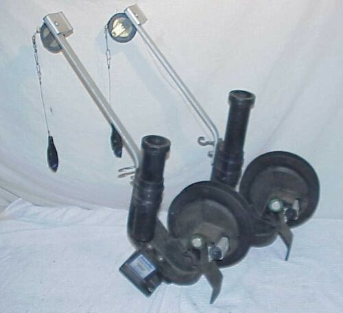 """PAIR Invader DOWNRIGGER with 15"""" boom downriggers Compact Series"""