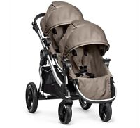 """ALMOST BRAND NEW """"CITY SELECT"""" DOUBLE STROLLER"""
