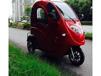 Electric Tricycle - Eco friendly - Road Tax requires, Use the Bus lane, Keep Dry