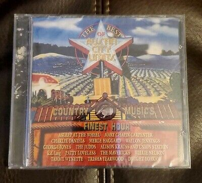 Best of Austin City Limits - Country Music's Finest Hour - CD - Sealed -