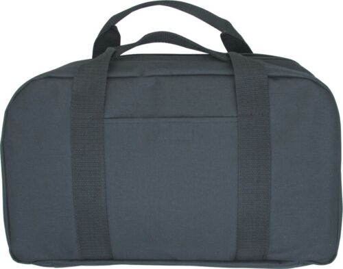 Carry All Knife Case 22 inch Black 2-Handles Holds 22 Knives Storage Bag 128