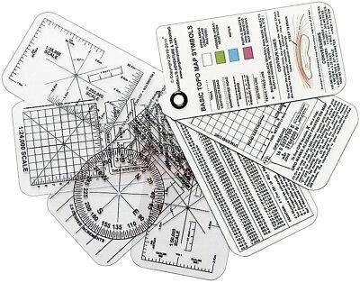 Compass Gear - ESEE COMPASS-CARDS Izula Gear Compass Cards, 7-Card Set