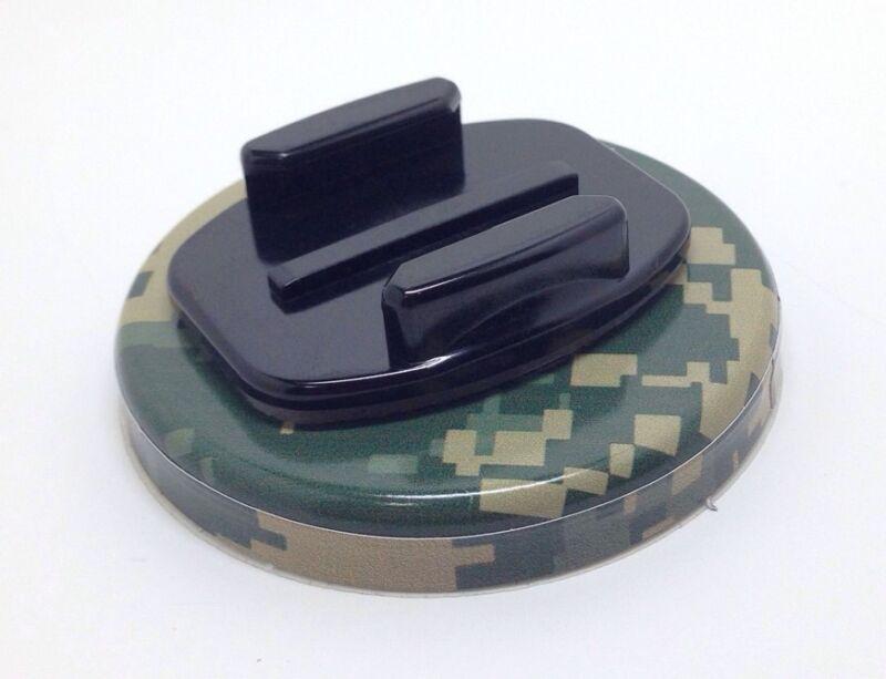 #5.1 DIGITAL CAMO STYLE Go PRO Magnetic flat mount gopro Hero 2 3 go karts etc