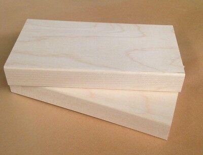 Wood Mounts for Rubber Stamps, Maple Wood Blocks, Stamp Mounts, Maple 2.5  X  5