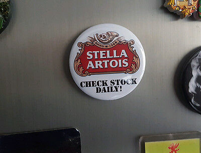 Stella Artois - Fridge Magnet - 58mm diameter