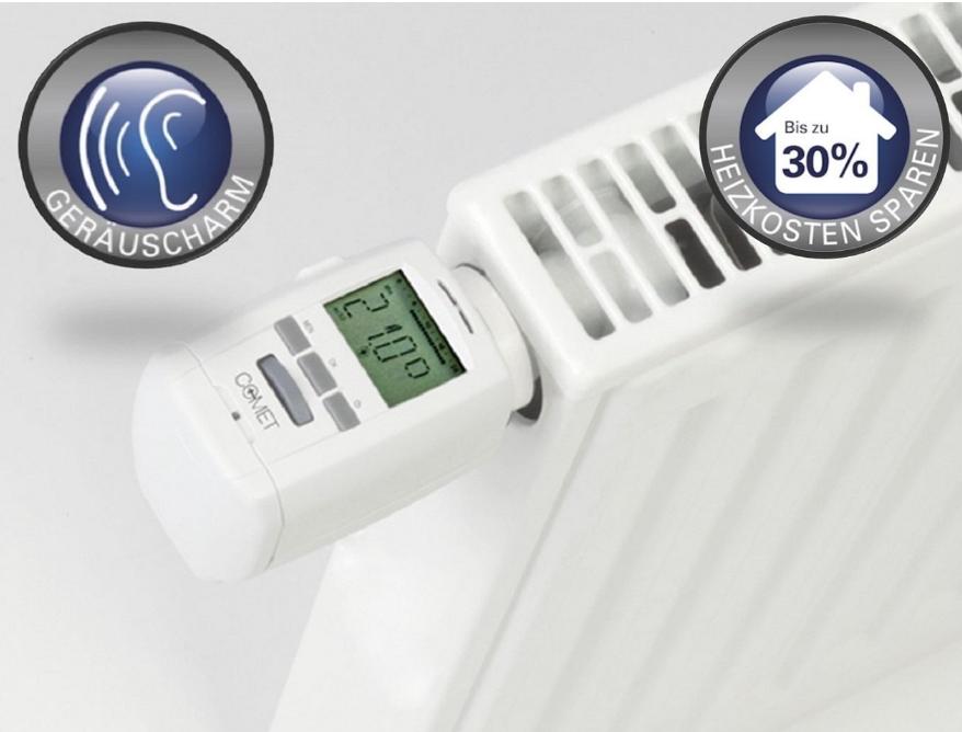 Eurotronic Heizkörperthermostat Thermostat Energiespar-Regler Heizungsregler