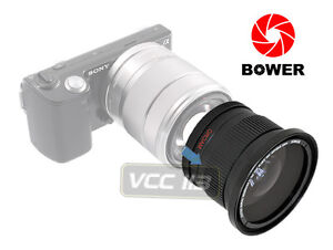 ★Fisheye & Macro Lens For Sony Alpha NEX-5 / NEX-3 NEX5 18-55mm 16mm