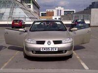 Autom&man.Mint Condition Renault Megane Convertible Cabriolet Automatic Petrol 1.6 sport version