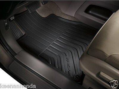 Genuine OEM Honda CR V Black All Season Mat Set 2012   2016 CRV Mats