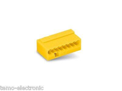 50 Stück WAGO 243-508 Dosenklemmen 8 x 0,6-0,8 mm² Wagoklemmen