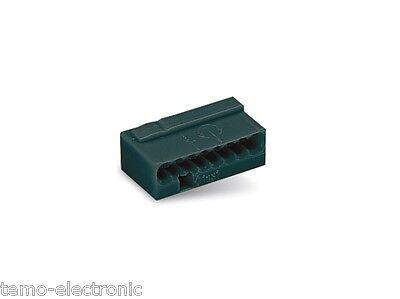 50 stück WAGO Klemmen 243-208 , 8-polig 0,6 + 0,8 mm  Micro, NEU