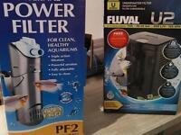 Fish tank aquarium filter pumps