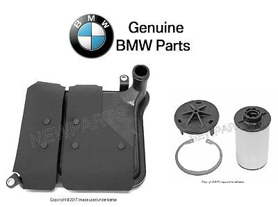 For BMW 135i M3 M4 M5 M6 Z4 11-16 Trans Pressure & Suction Filter Kit Genuine