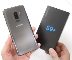 LIKE NEW SAMSUNG GALAXY S9 PLUS 64GB GREY WARRANTY ++
