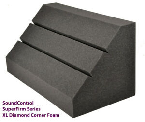 PRO STUDIO CORNER FOAM DIAMOND BASS TRAPS