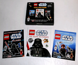 New Lego Star Wars mini book set - Visual Dictionary and stickers