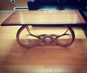 Handcrafted custom coffee table