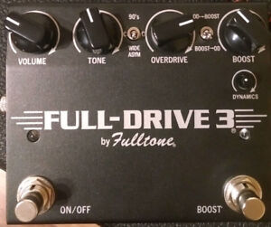 Fulltone Pedals for sale (3x)
