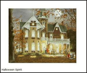 Halloween Spirit Open Editio print by Walter Campbell Halloween