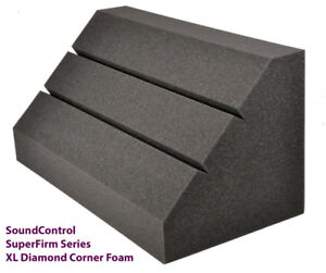 20% OFF PRO STUDIO CORNER FOAM DIAMOND BASS TRAPS