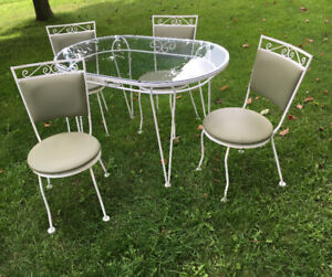 Rare &  Excellent Original Hauser Petite Dinette SEE VIDEO