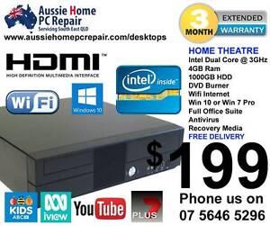 HOME THEATRE / HOME SERVER, HDMI, FAST 3GHz, 4GB RAM, 1000GB HDD Bundall Gold Coast City Preview