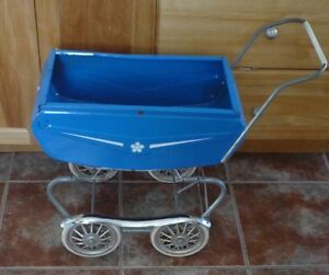 VINTAGE THISTLE DOLL CARRIAGE 1950'S