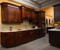 Great Saving!!! Solid wood kitchen cabinet , starts from $2199