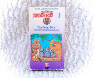 Teddy Ruxpin VHS Movie Tape 1980s The Faded Fobs Video