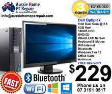 "8GB RAM, 20"" WIDESCREEN LCD, WIFI, WIN 7 OR 10. OFFICE SUITE Loganlea Logan Area Preview"
