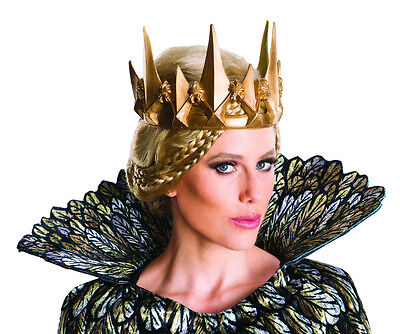 Evil Queen GOLD CROWN Ravenna Costume Gothic Crown - Queen Ravenna
