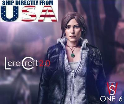SWToys 1/6 Lara Croft 2.0 Tomb Raider Female Explorer Action Figure FS015 U.S.A.
