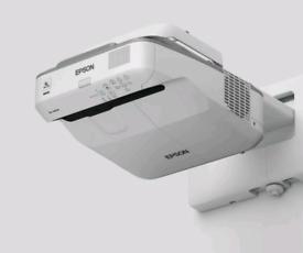 Epson EB-675W SHORT THROW PROJECTOR HDMI DLP WIFI ENABLED RAZOR SHARP