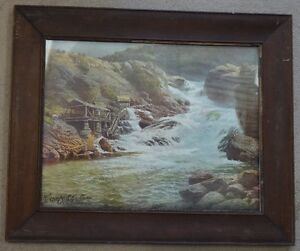 Framed Print - Advertising for Campbell Maclaurin Lumber Company
