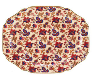 Stunning Jaipur Cream Large Serving Tray Platter Brand New