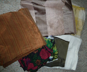 Silk Upholstery/Quilting fabrics Strathcona County Edmonton Area image 1