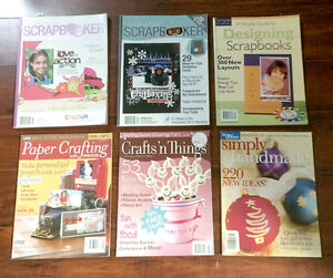 Scrapbooking/Card making magazines