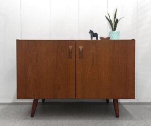 Vintage Danish Teak Credenza / Cabinet