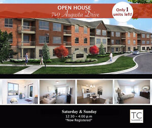 *LAST CHANCE* Open house Augusta Glen Adult Lifestyle Condo's