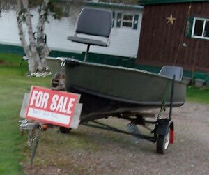 14 foot boat with trailer