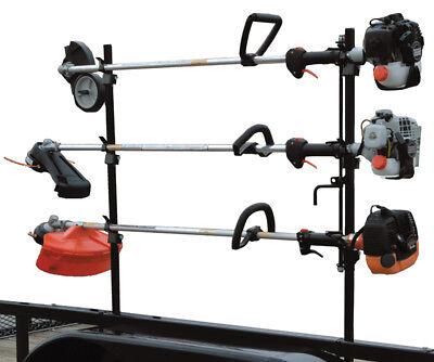 Landscape Trailer Lockable Trimmer Rack
