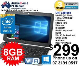 8GB Ram, Dell i5, Windows 10 Pro, HDMI, Webcam. Warranty Bethania Logan Area Preview