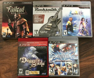 Collectible Sony PS3 games