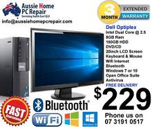 "8GB RAM, 20"" WIDESCREEN LCD, WIFI, BLUETOOTH, WIN 7 OR 10. Loganlea Logan Area Preview"