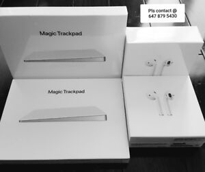 """Combo Pack"" Sealed Box Apple Magic TrackPad 2 & Wireless Airpod"