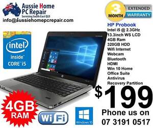 "i5 HP Probook. 14"" LCD. Webcam, Windows 10. Office Suite. Bethania Logan Area Preview"