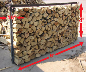 FIREWOOD - SEASONED DRY HARD DENSE & HOT BURNING - IN STOCK NOW