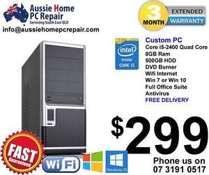 i5 Quad Core @ 3.1GHz, 8GB Ram, 500GB HDD. Win 7 or Win 10. $299 Bethania Logan Area Preview