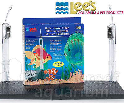 Lees Undergravel Filter - Under-Gravel Aquarium Filter Lee's Original UGF 10 Gallon 20