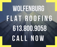 Flat Roofing Repair and Installation - Call Now 613 800 9058